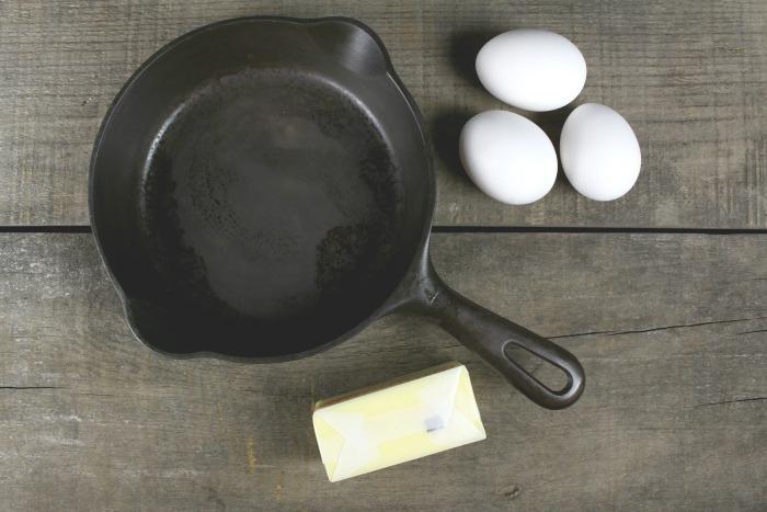 restore cast iron pans