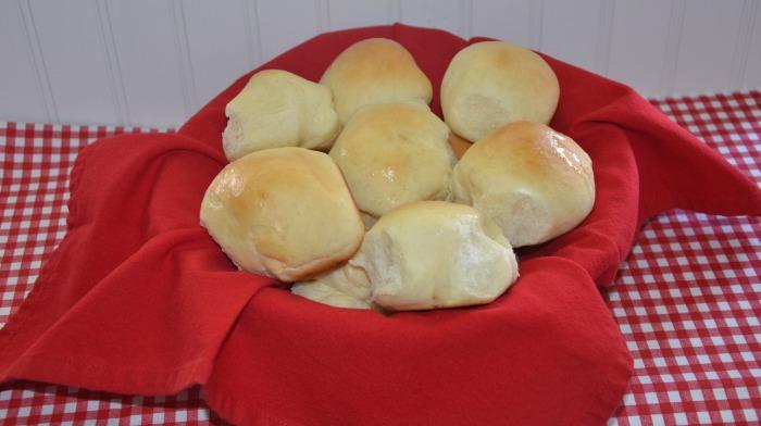 no-fail dinner rolls