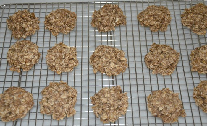 2-Ingredient Healthy Breakfast Cookies
