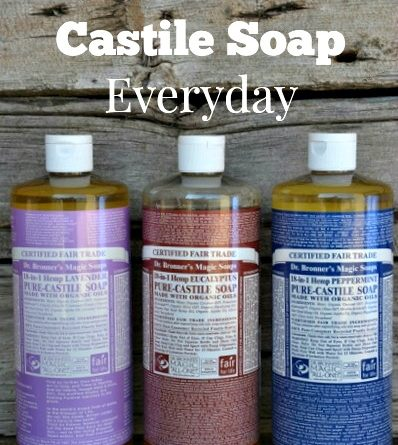 Ten Great Ways To Use Castile Soap Everyday | via www.foodstoragemoms.com