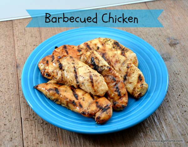 How To Make A Quick And Easy Barbecued Chicken Recipe | by FoodStorageMoms.com