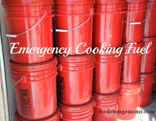 Emergency Cooking Fuel