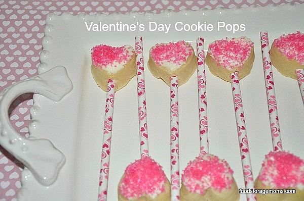 Valentines Day Cookie Pops