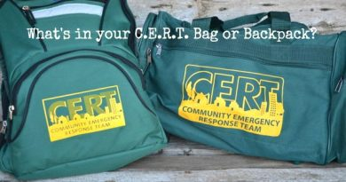 Whats In Your C.E.R.T. Bag