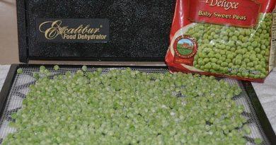Dehydrate Peas