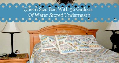How To Store Water Long Term Under A Bed | via www.foodstoragemoms.com