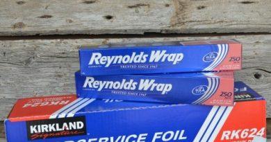 Store Aluminum Foil