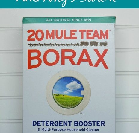 20 Mule Team Borax And Why I Store It | via www.foodstoragemoms.com