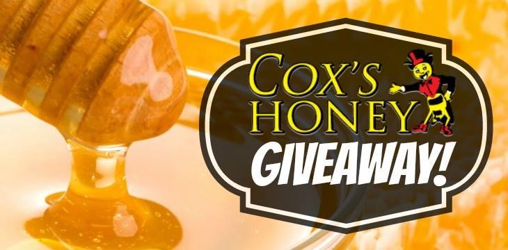 Coxs Idaho Honey Giveaway