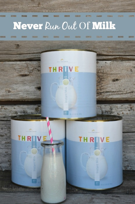 Never Run Out Of Milk Again Food Storage Moms