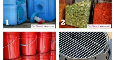 12 Top Emergency Preparedness Items | via www.foodstoragemoms.com