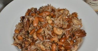 Paleo Gluten-Free Granola