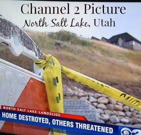 North Salt Lake Utah Landslide