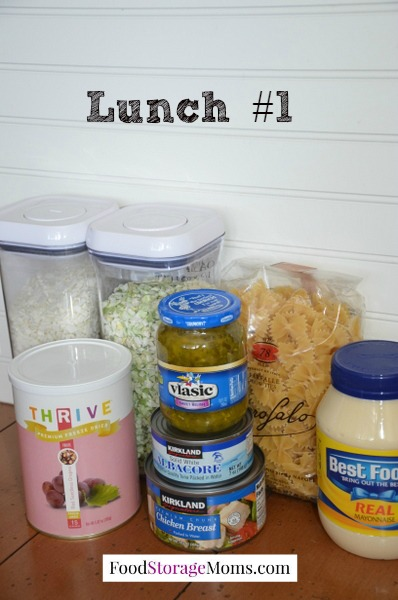 Ready For Emergency Meals-today I have ideas for lunch from your pantry by FoodStorageMoms.com