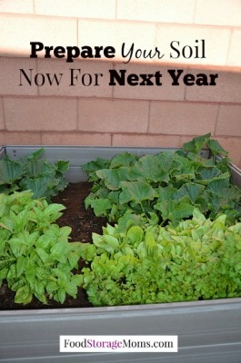 How To Prepare Your Garden so you are ready for planting next Winter or Spring by FoodStorageMoms.com