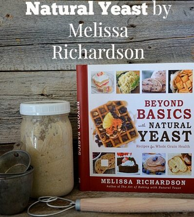 How To Feed Your Natural Yeast-Beyond Basics With Natural Yeast by Melissa Richardson-Review | via www.FoodStorageMoms.com