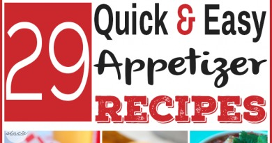 These 29 quick and easy appetizer recipes will be sure to please a crowd, without requiring you to spend hours in the kitchen |via www.foodstoragemoms.com