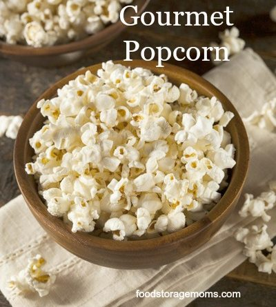 Popcorn-Where Do I Get That Huge Gourmet Popcorn | by FoodStorageMoms.com