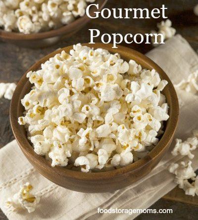 Popcorn-Where Do I Get That Huge Gourmet Popcorn | by FoodStorageMoms.com