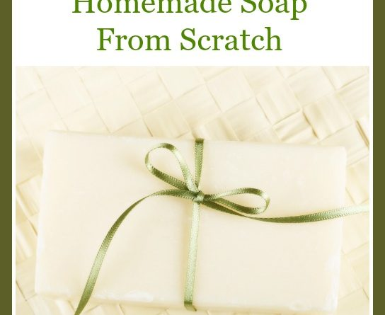 How To Make Amazing Homemade Soap From Scratch | by FoodStorageMoms.com