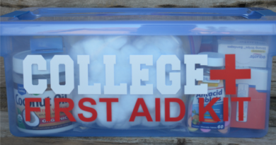college first aid kits