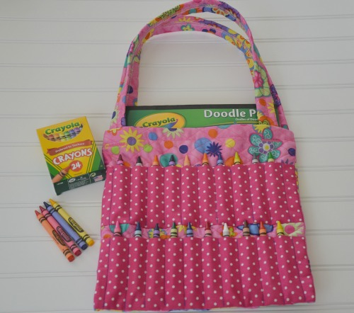 Childrens Crayon Bag For 72 Hour Kits Free Pattern