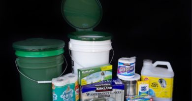 How To Store Your Emergency Preparedness Items
