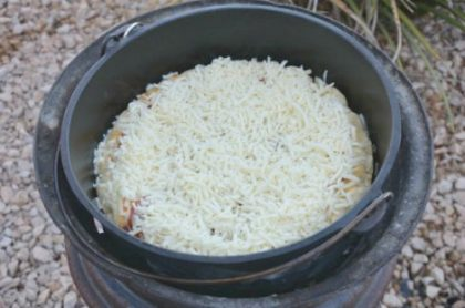 How To Make And Cook Dutch Oven Pizza