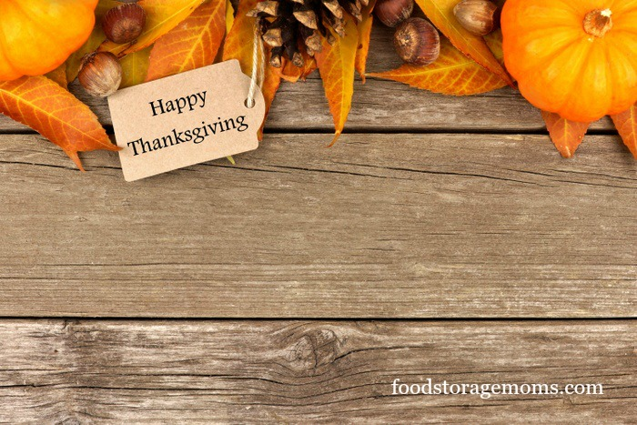 How To Make Thanksgiving Dishes From Scratch by FoodStorageMoms