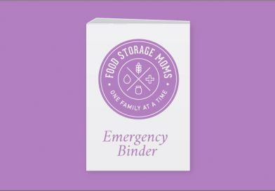 How To Compile My FREE Emergency Binder Download by FoodStorageMoms