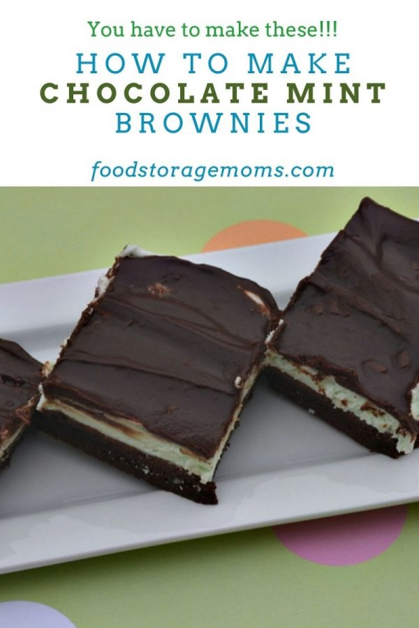 How To Make Chocolate Mint Brownies