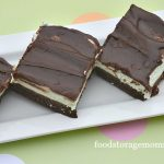 The Best Mint Brownie Recipe In The World by FoodStorageMoms
