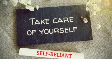 Be Self-Reliant