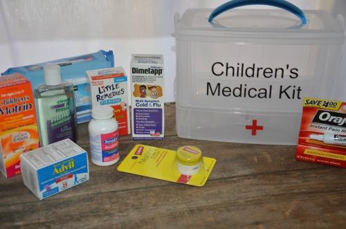 Children's First Aid Kit