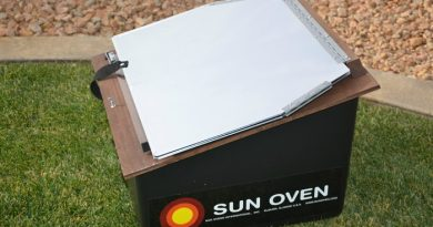 how to use a sun oven
