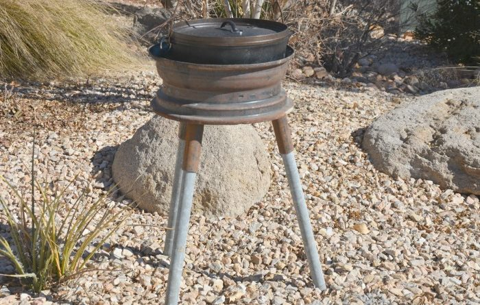 Dutch oven stand cheap