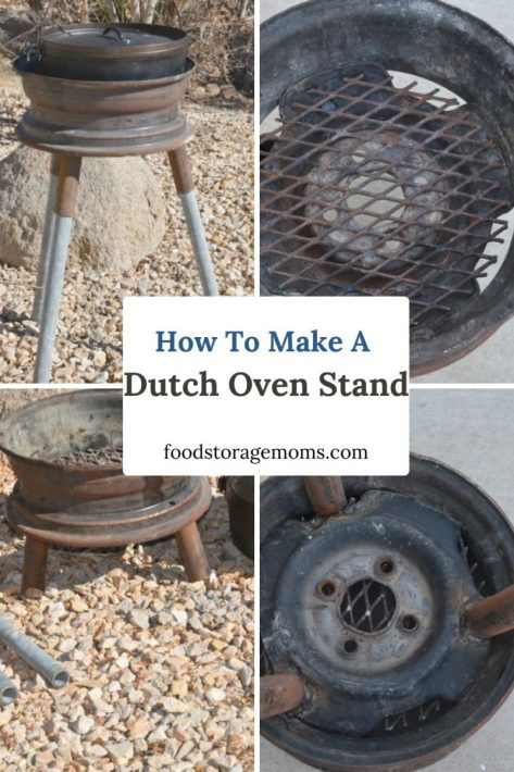 How To Make A Dutch Oven Stand
