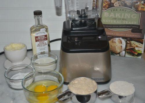 make natural yeast crepes