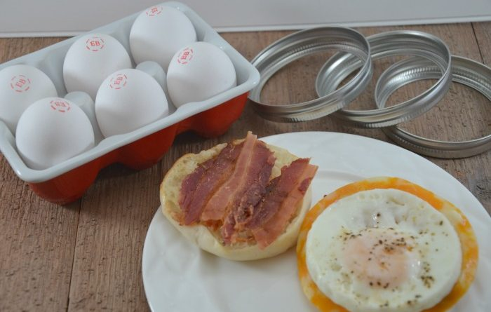 frugal breakfast sandwiches