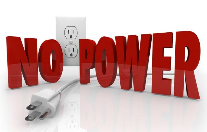 power goes