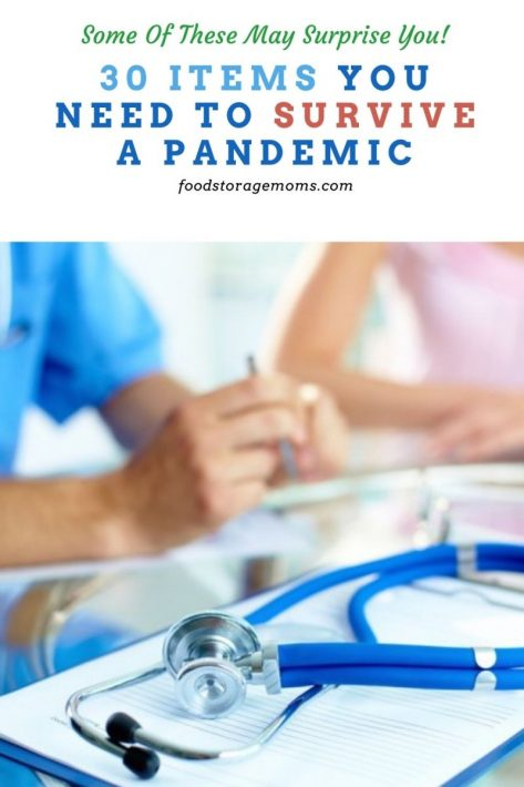 30 Items You Need To Survive A Pandemic