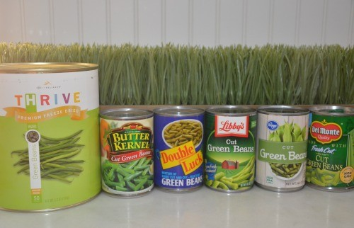 Compare Food Storage Green Beans And Corn Food Storage Moms