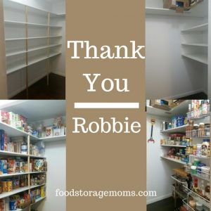 store emergency food