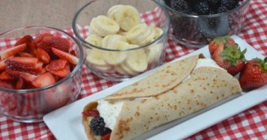 natural yeast crepes