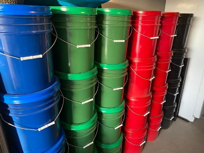 Emergency Fuel Buckets