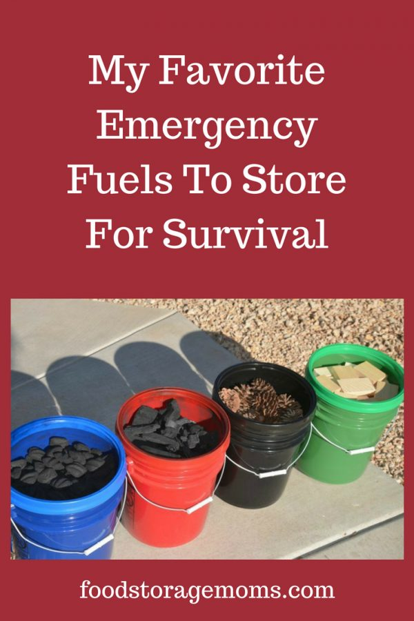 My Favorite Emergency Fuels To Store For Survival