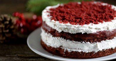 Simple Red Velvet Cake