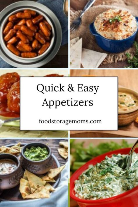Quick-Easy Appetizers For Every Party