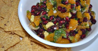 Pomegranate Avocado Salsa