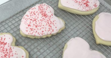 Sour Cream Cookies on a Rack